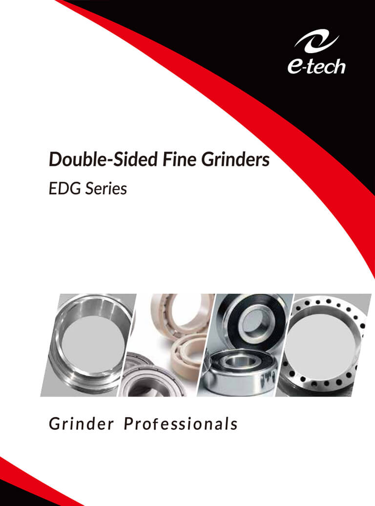 Double-Sided Fine Grinder EDG Series