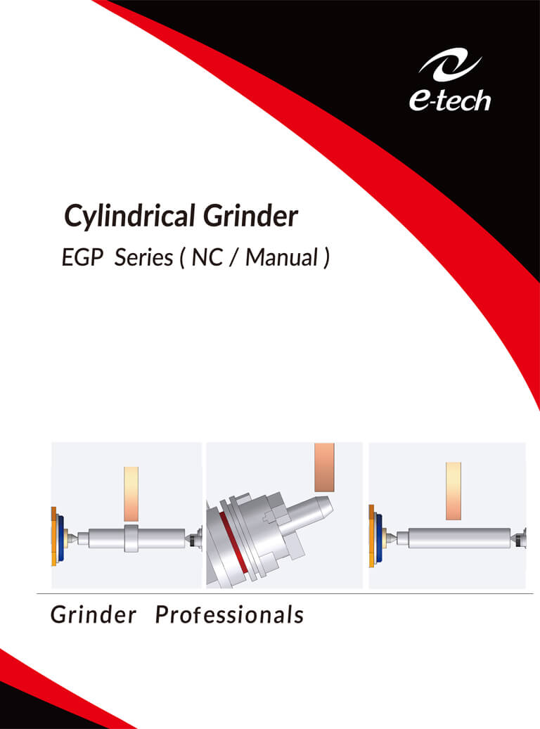 Cylindrical Grinder EGP Series (NC/Manual)