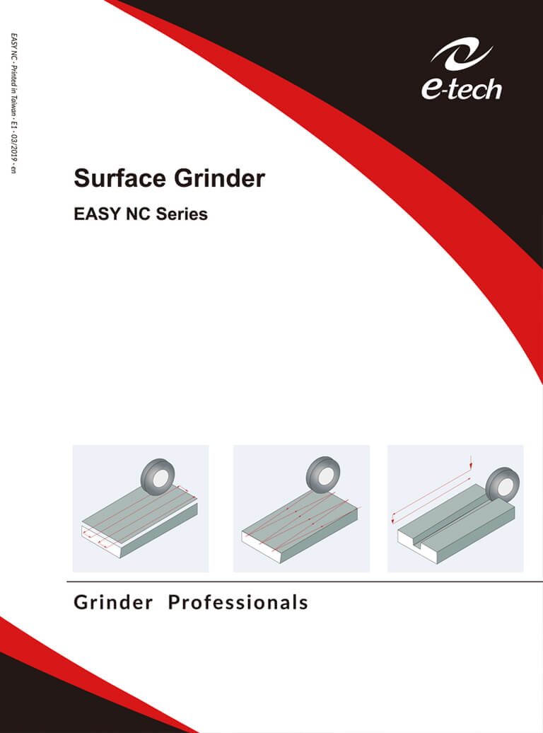 NC Precision Surface Grinders EASY Series